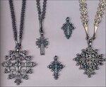 Старообрядческие наперсные Кресты мирян.