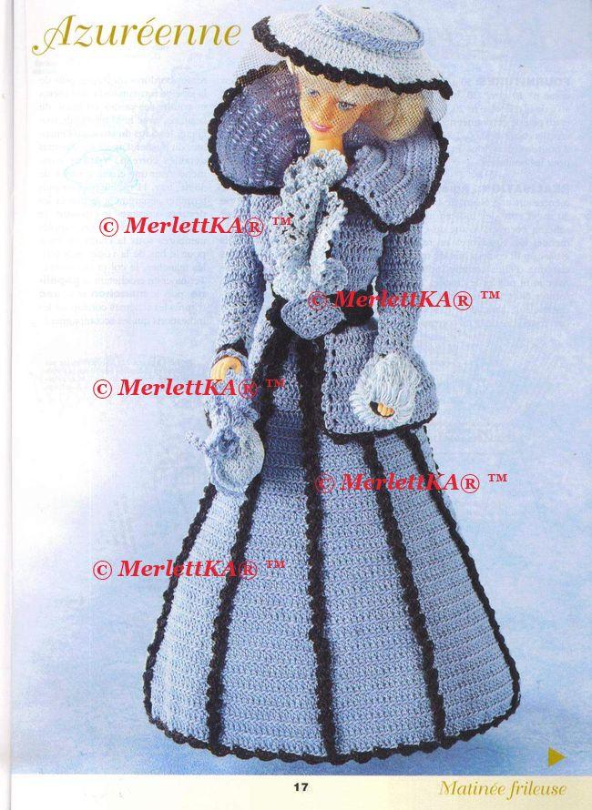 Вязание крючком схемы и модели для кукол