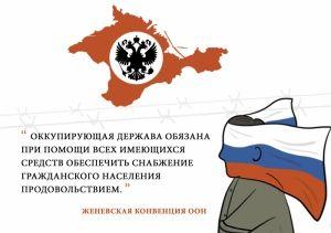 Оккупанты пытаются спровоцировать украинцев на границе с Крымом