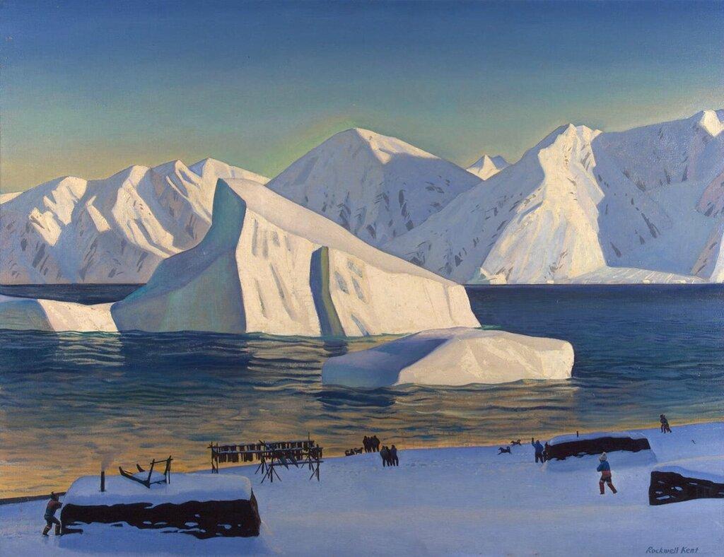Эрмитаж: Кент, Рокуэлл - Начало ноября. Северная Гренландия