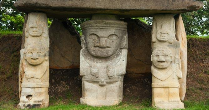 statues of Inca