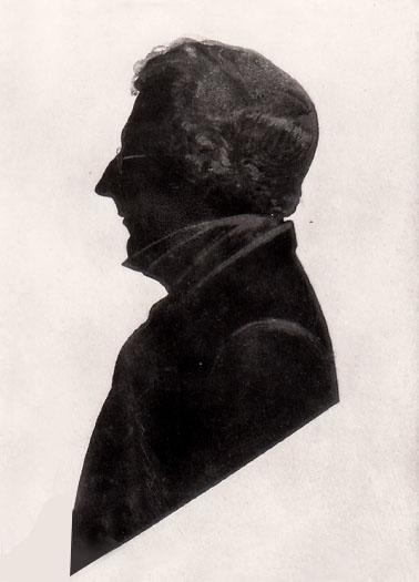 Бранвелл, портрет в силуэт, неизвестный художник..jpg