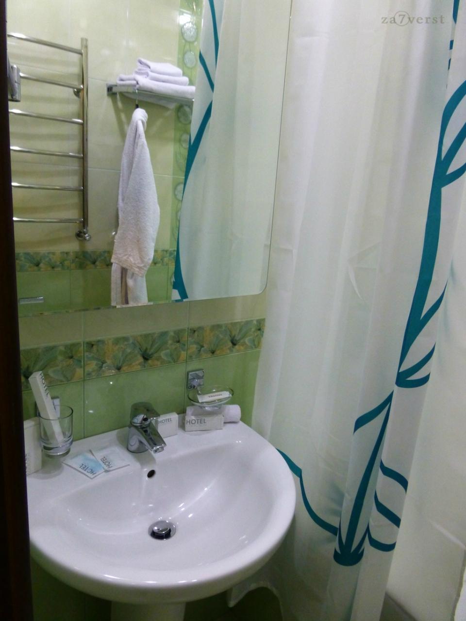 """Отель """"Южная башня"""" в Краснодаре, ванная комната"""