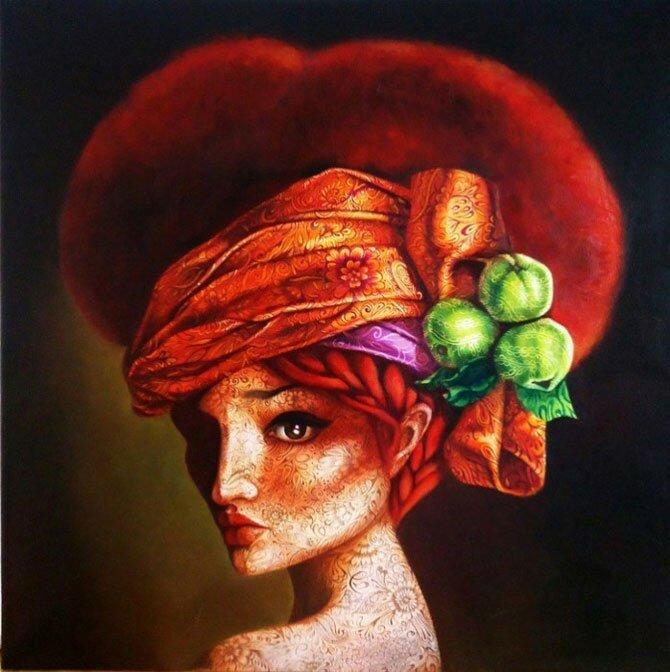 картины Екатерины Разиной