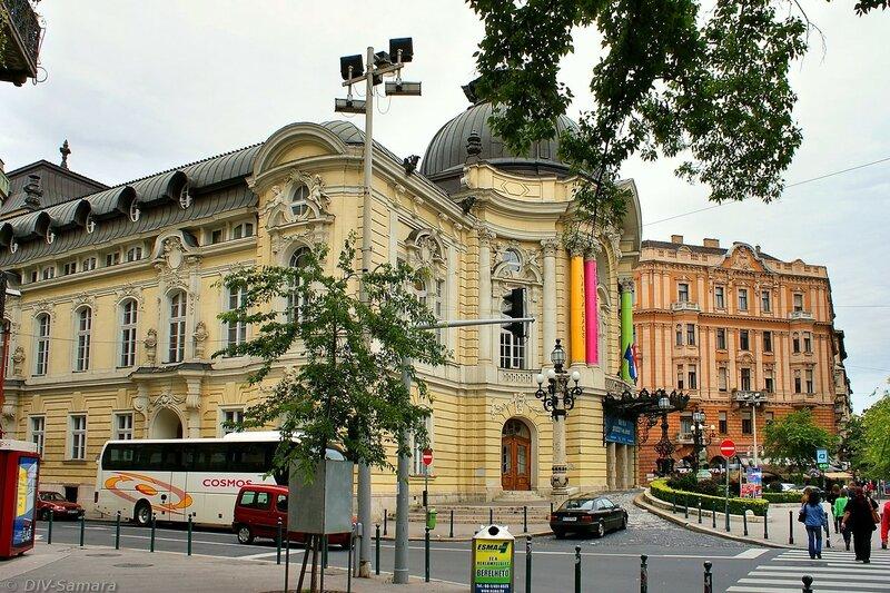 Будапештский театр комедии