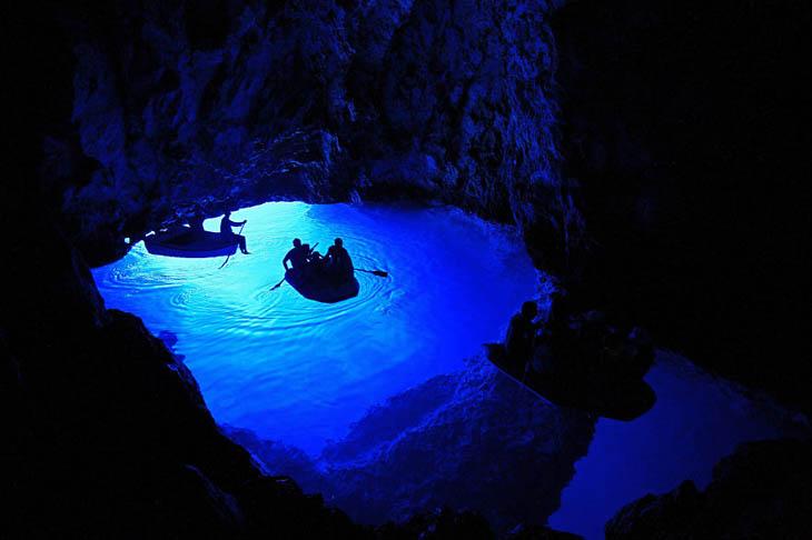 Пещера Waitomo, Новая Зеландия.