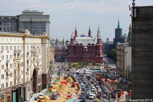 Москва перестраивается...