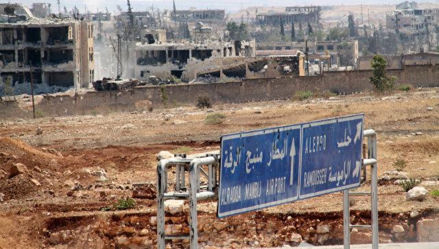 ВВС Турции нанесли удар врайоне сирийского Эт-Телля