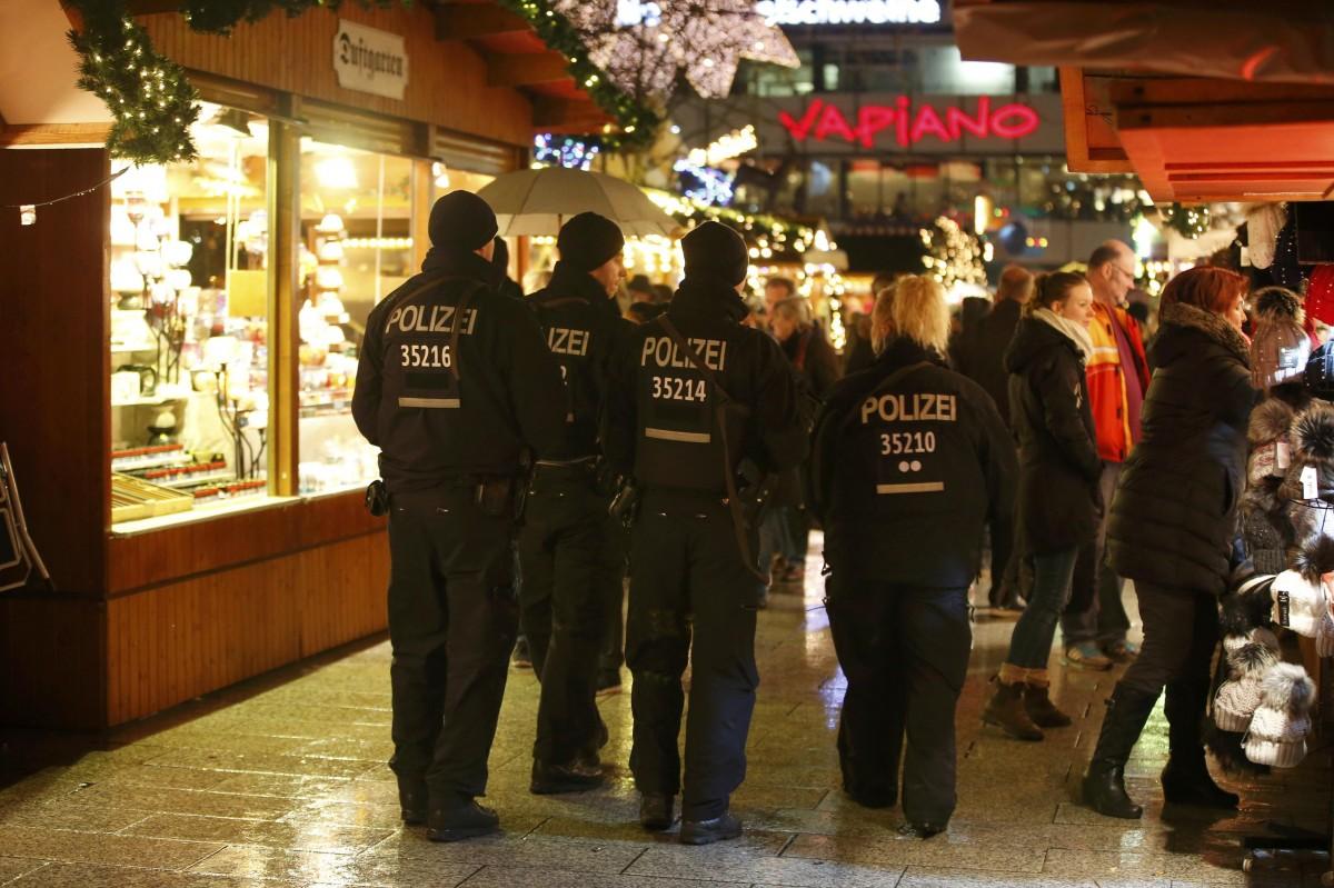 ВГермании милиция задержала 2-х подозреваемых вподготовке теракта