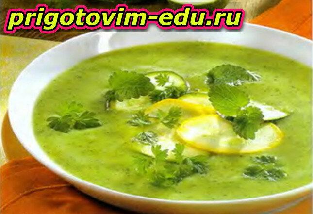 Крем-суп «Кабачок»