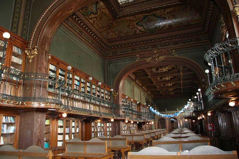 Библиотека Ясского технического университета имени Герге Асаки, Яссы, Румыния.