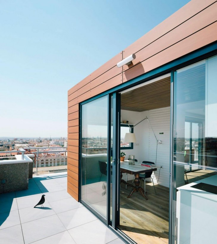 Madrid Penthouse by i! arquitectura