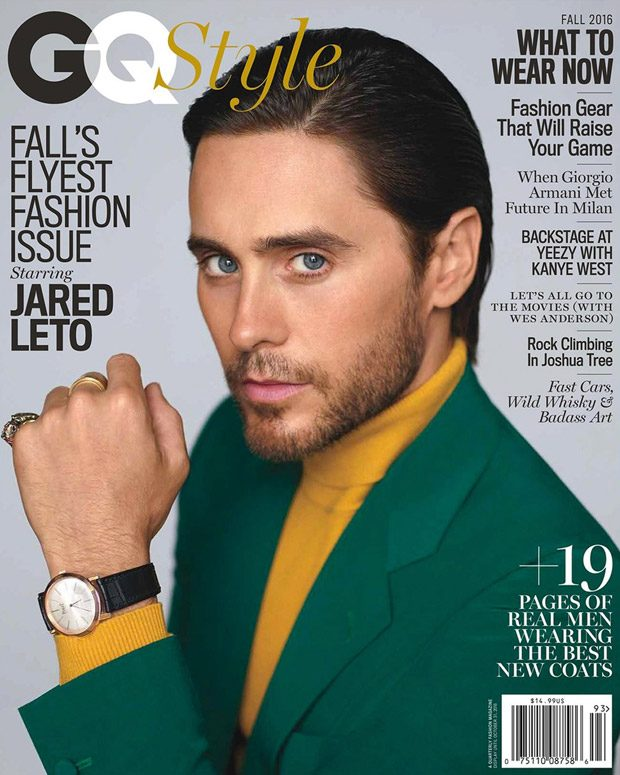 Suicide Squad' s superstar Jared Leto takes cover story of American GQ Style 's Fall 2016 edit