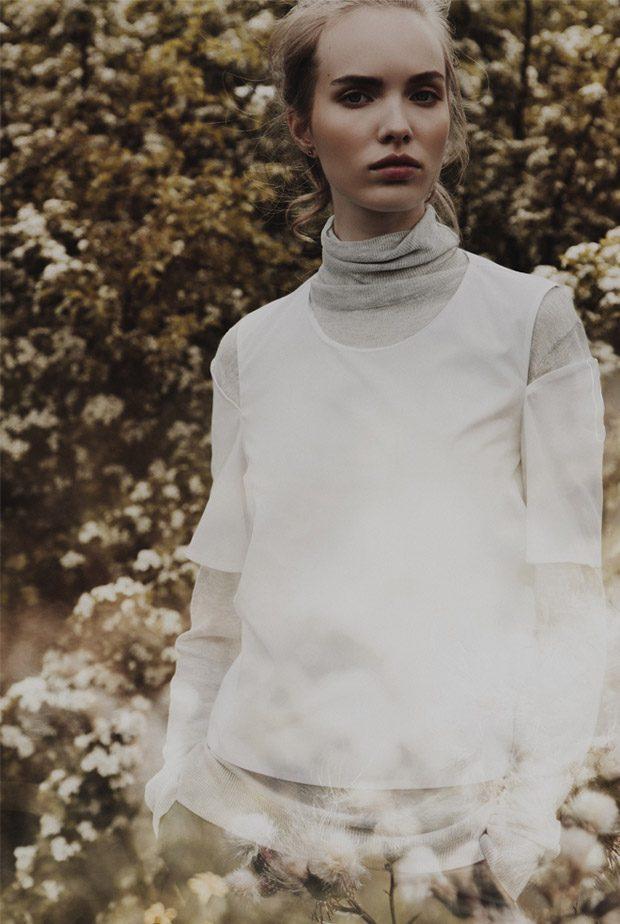 Turtneneck Shirt: Zara blouse: Bimba y Lola