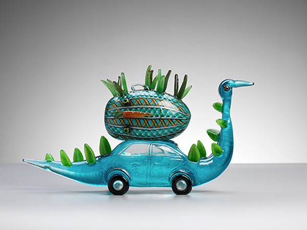 Unique Glass Pieces by Tom Moore
