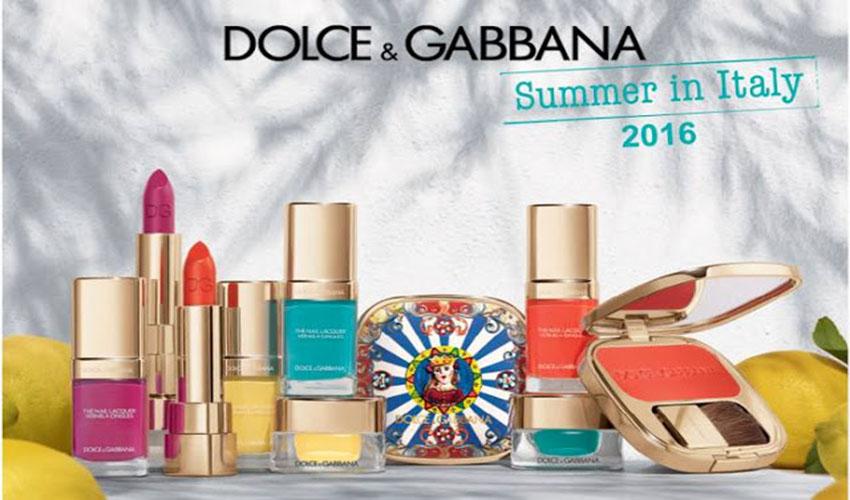 Dolce & Gabbana Summer Make Up Collection 2016