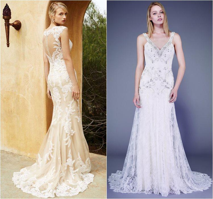 Кружевные свадебные платья 2016 фото 1