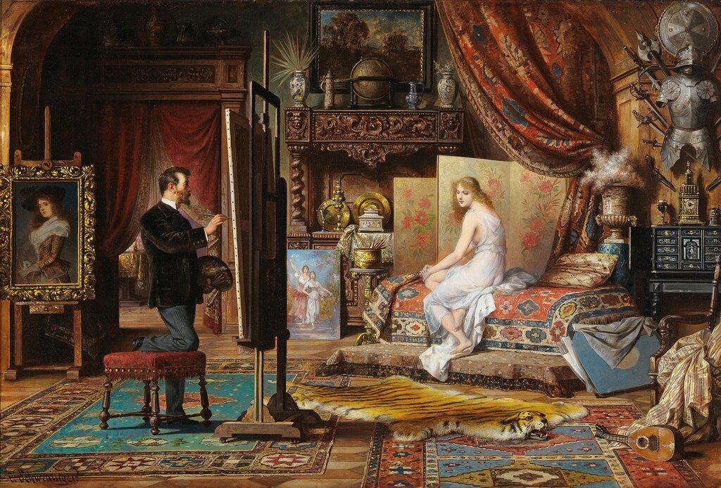 Carl Schweninger der Jüngere(Wien 1854–1903)