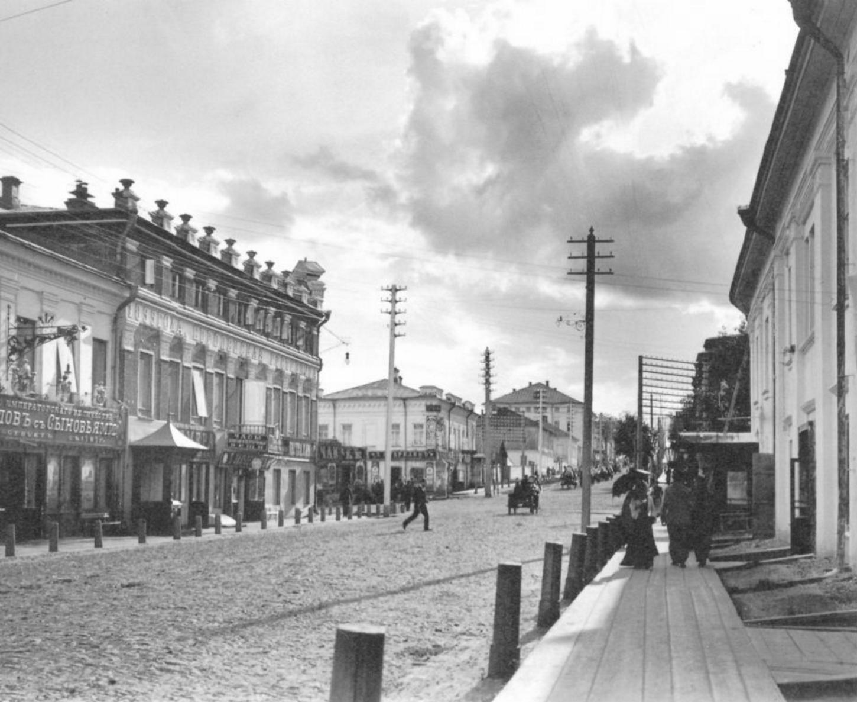 Спасская улица. Вид на запад