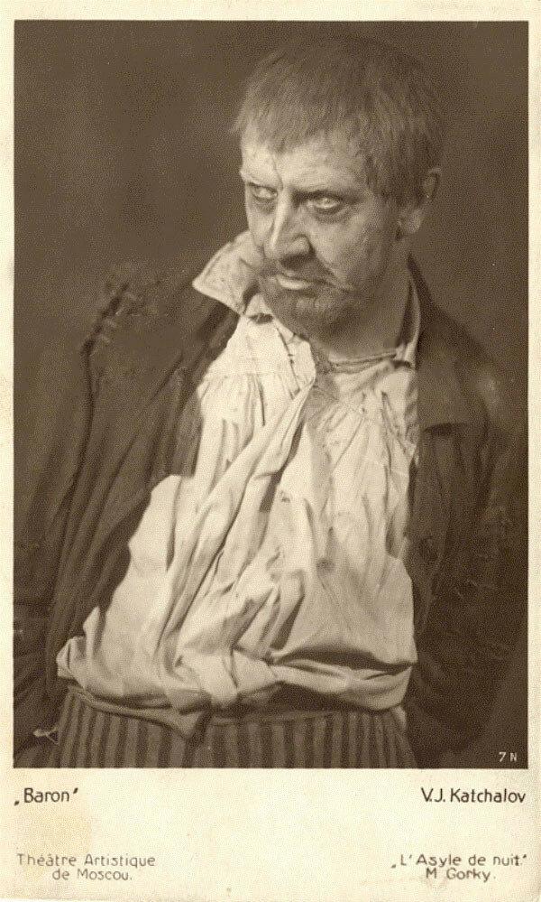 После Октябрьской революции возглавлял часть труппы Станиславского, которая отправилась на гастроли по югу России.