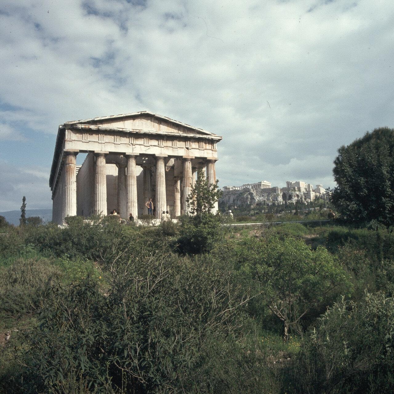 Афины. Агора. Храм Гефеста с запада
