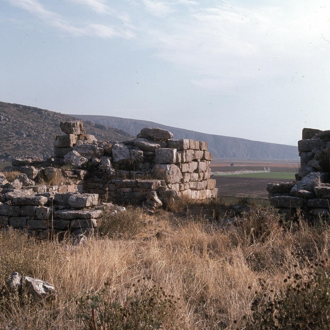 Арне. Микенская цитадель Гла. Северные ворота