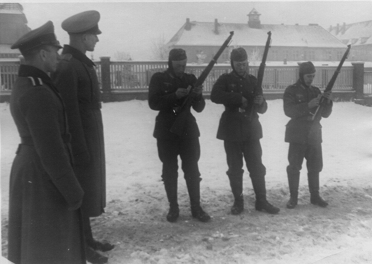 Обучение призывников в немецкой армии