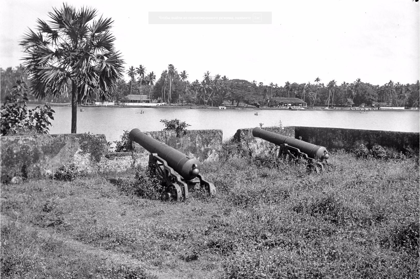 336. Баттикалоа. Голландские пушки в Форте