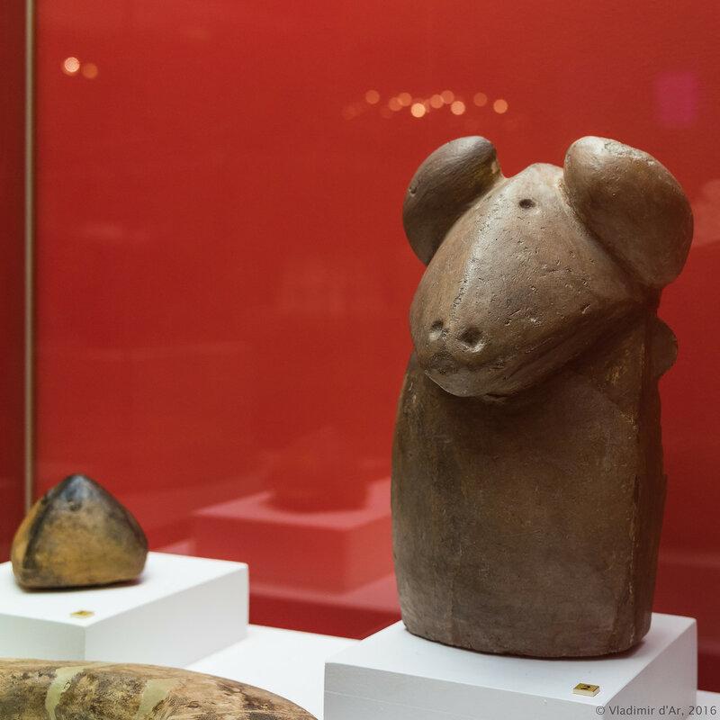 Фигурка барана. Фрагмент очага. Арич. III тыс. до н.э. Глина.