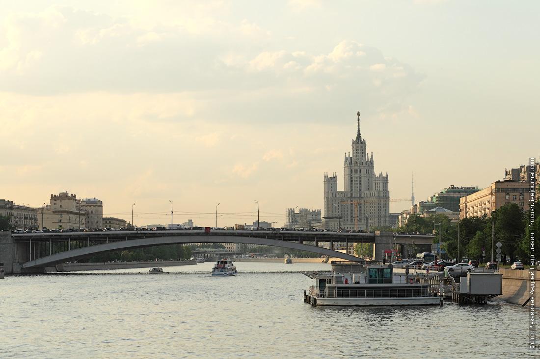 Большой Краснохолмский мост, высотка на Котельнической и плавучая вертолетная площадка