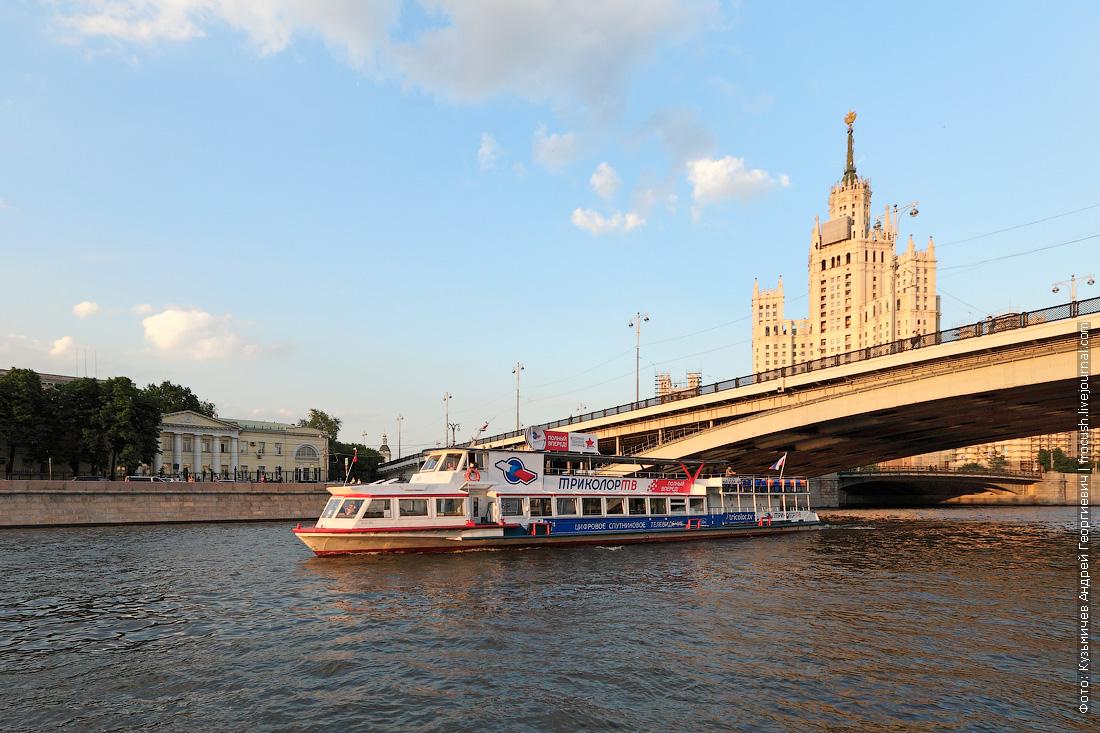 теплоход Москва-90
