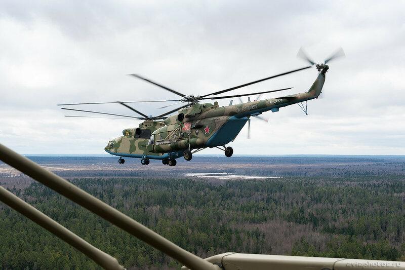 Миль Ми-8МТВ-5 (RF-24773 / 38 красный) ВКС России 118_D700646