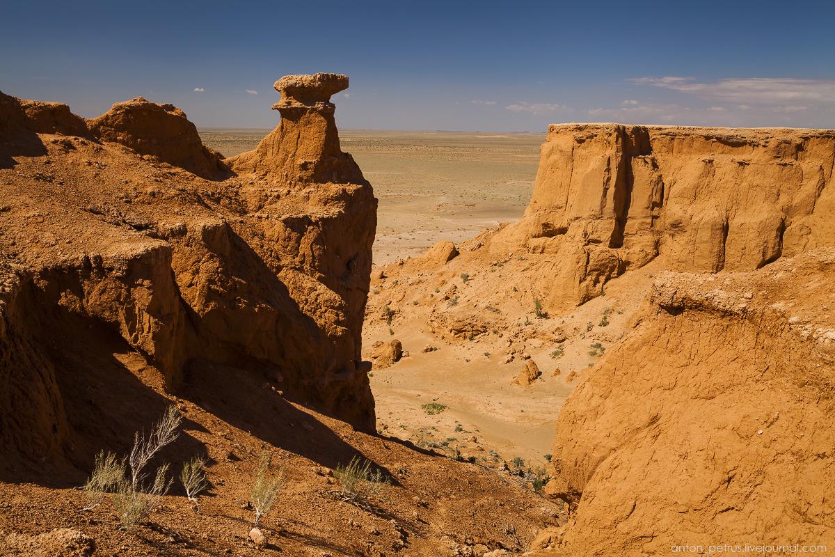 Пустыня Гоби. Кладбище динозавров. Баянзаг
