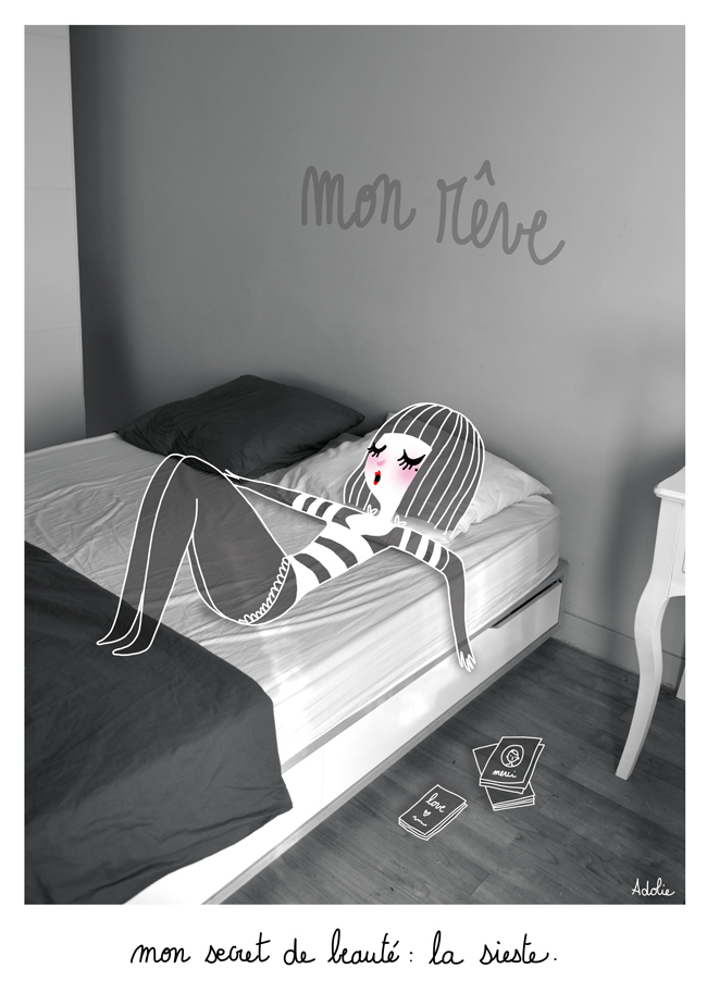 Маленькие парижанки - Petites Parsiennes / работы adolie day