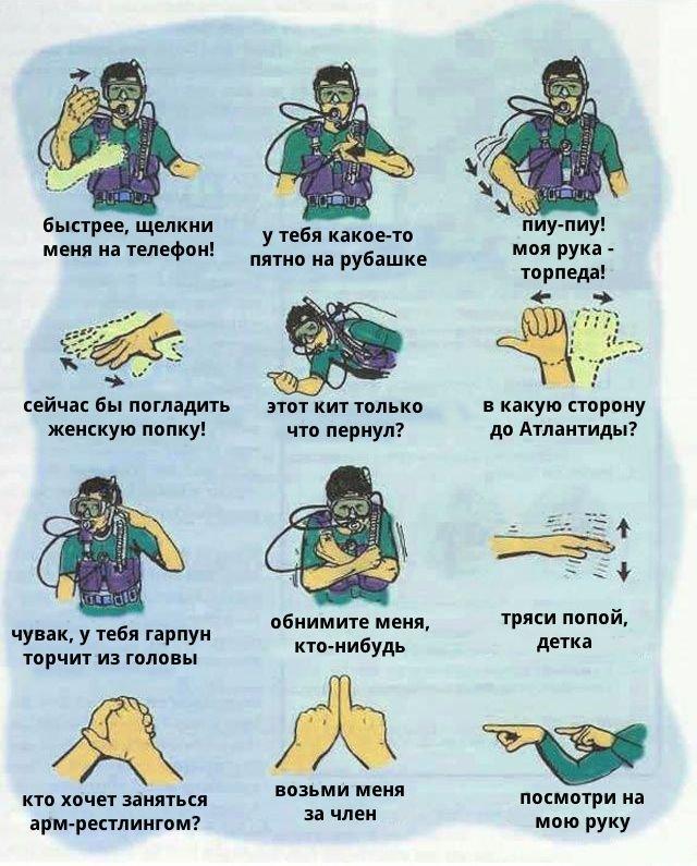 5 мая - День водолаза в России! Как общаются водолазы в воде
