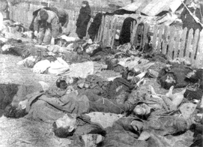 Убитые в результате действий УПА-ОУН(б) жители села Липники (ныне не существующего), под городом Березно, ныне Ровненская область, 1943