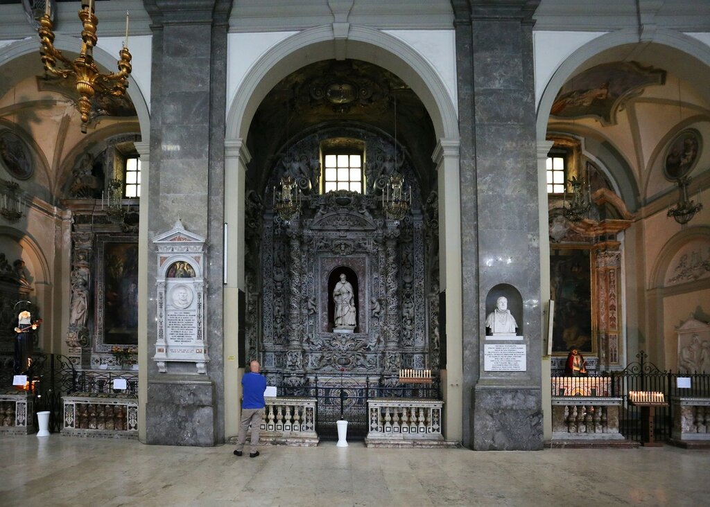 Palermo. The Church of San Domenico (Chiesa di San Domenico)