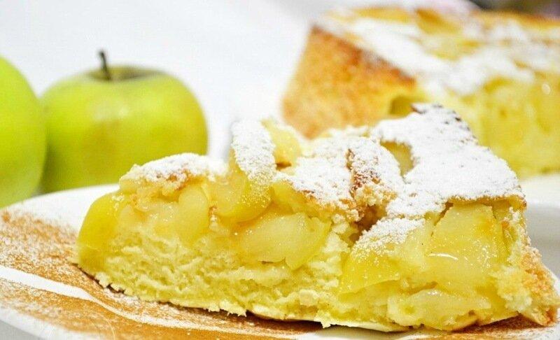 Рецепт шарлотки с апельсинами, яблоками и мандаринами   варианты сочетаний начинки