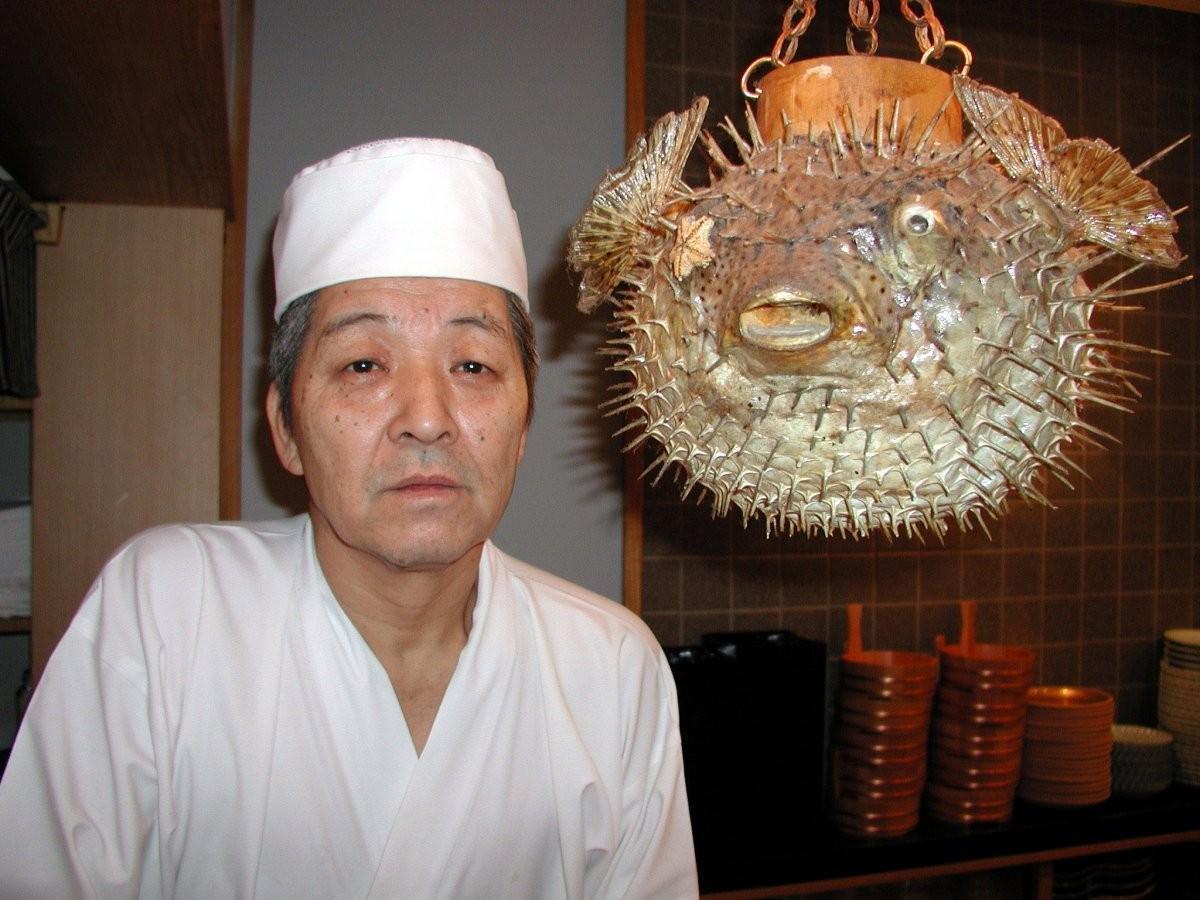 75. Испытайте судьбу и попробуйте фугу в токийском ресторане, Япония.