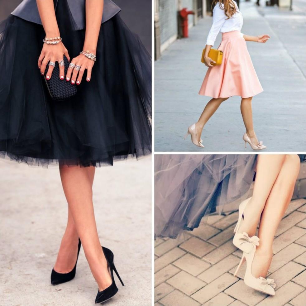 1. Лодочки «Дайте девушке правильные туфли, и она сможет покорить весь мир» (Мэрилин Монро).