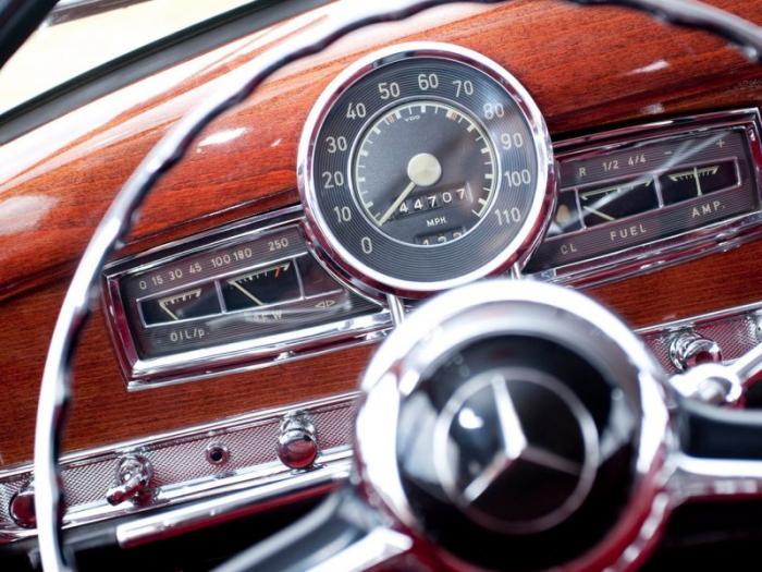 Единственный универсал Mercedes-Benz 300C родом из 50-х