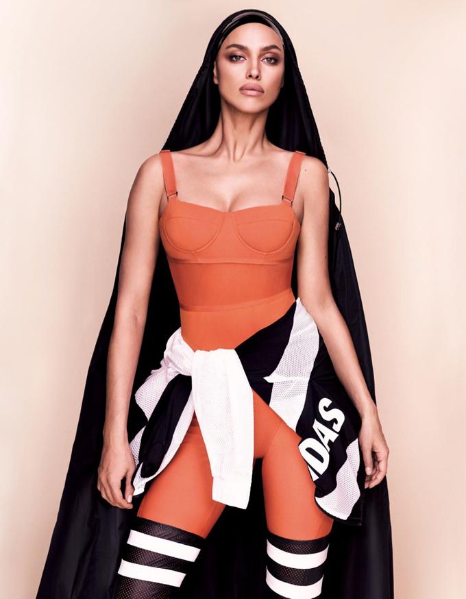 Ирина Шейк для Vogue Japan