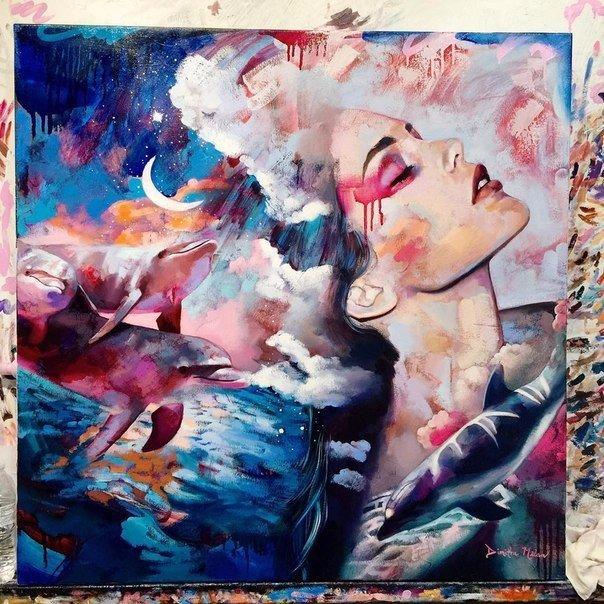 Работы 16-летней художницы Dimitra Milan (10 фото)