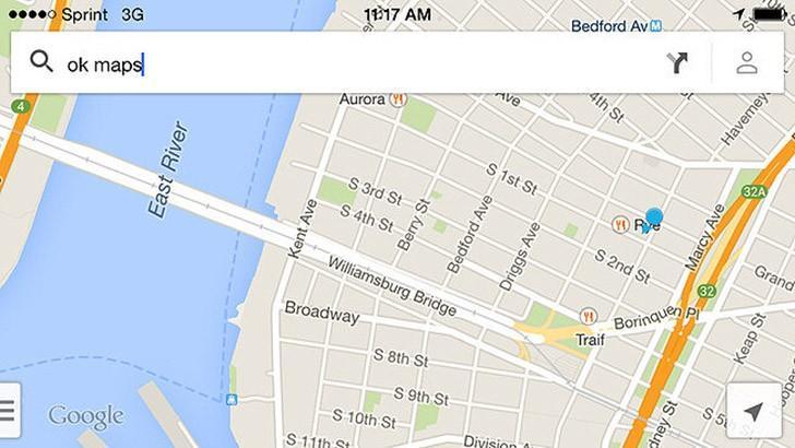 """22. Функция """"OK Maps"""" сохранит изображения карт Google Maps, и вы будете иметь к ним доступ офлайн."""