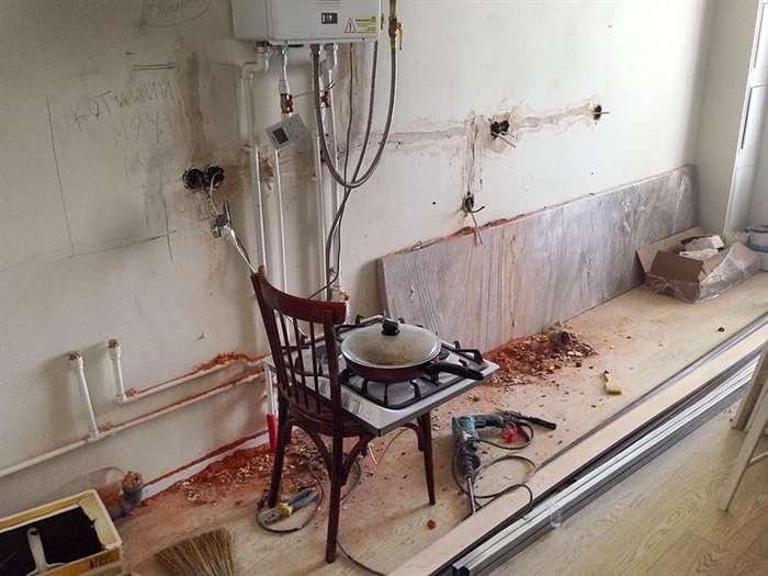 Просто представлю, что стиль нашей квартиры – лофт