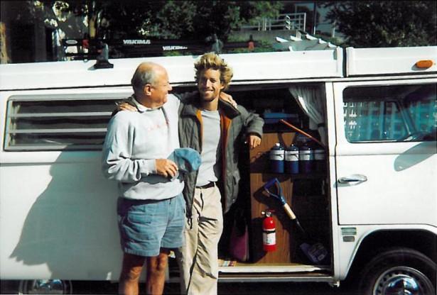 Ник и его отец Дин Вудман  В 1997 году он окончил университет с дипломом специалиста в области