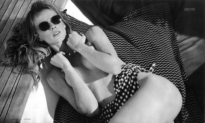 Анна Вьялицына в Maxim Magazine