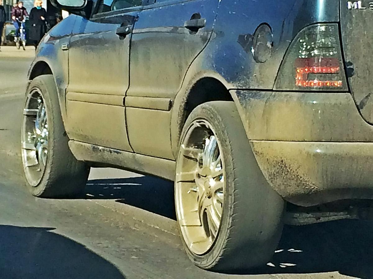 Штрафы залетние шины зимой либо за«шиповку» летом увеличат вчетверо