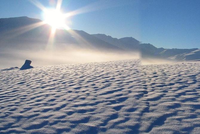 НаСеверном полюсе зимой побит температурный рекорд