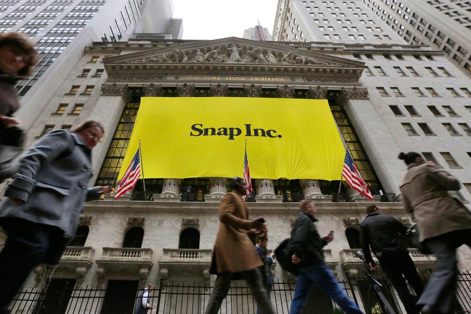 Snap пока неможет соперничать с фейсбук иGoogle нарынке рекламы